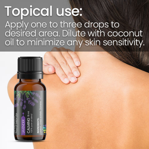 Lavender Essential Oil Topical Use
